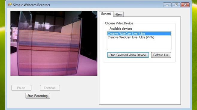 Simple Webcam Recorder: Eigenes Gesicht aufnehmen ©COMPUTER BILD