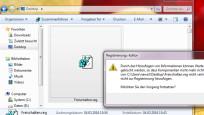 REG-Datei beschleunigt die Arbeit©COMPUTER BILD