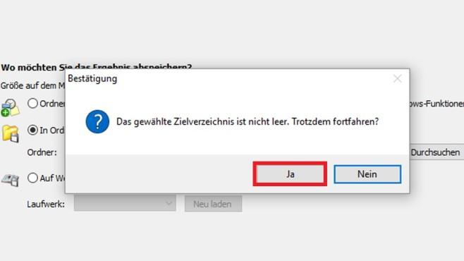 Gadget-Datei erzeugen (4) ©COMPUTER BILD