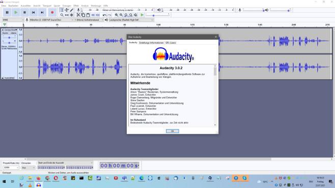 Audacity: Audiodateien erstellen und bearbeiten ©COMPUTER BILD