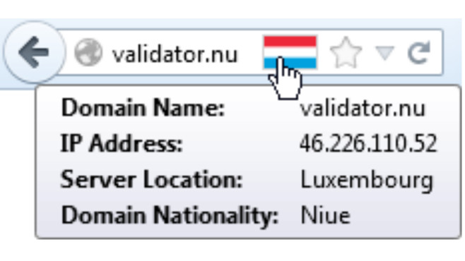 Flagfox: Webserver-Standort anzeigen ©COMPUTER BILD
