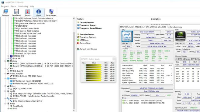 HWiNFO: PC-Hardware-Infos auslesen ©COMPUTER BILD