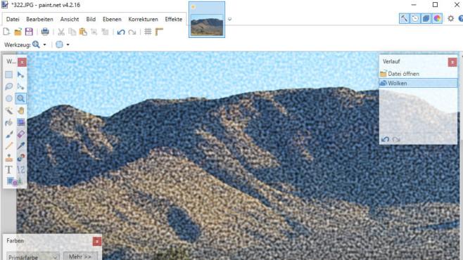 Paint.NET: Bilder bearbeiten und Screenshots speichern ©COMPUTER BILD