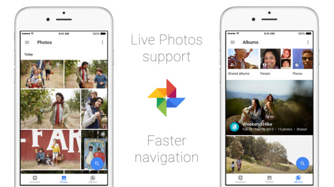 Google Fotos iOS-App©Google