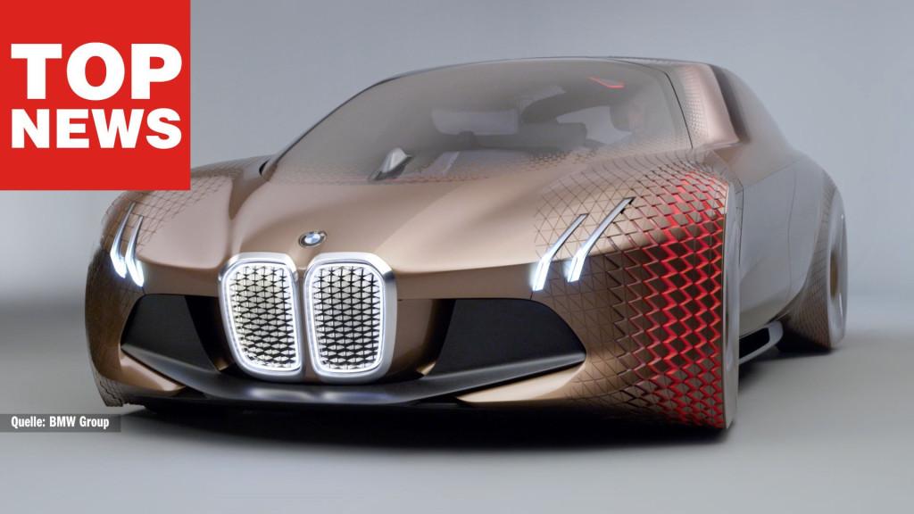 Bmw Vision 100 Zukunftsauto Mit Dehnbarem Blech Computer Bild