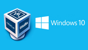 Windows 10 als virtuelle Maschine © Microsoft, Oracle