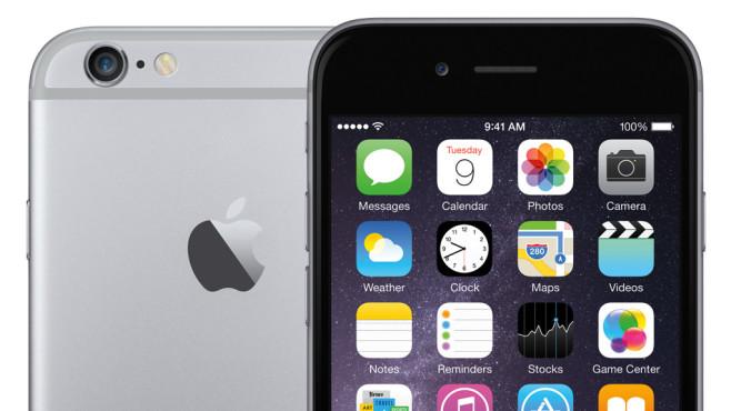 Apple iPhone 6S mit LTE-Allnet-Flat©Apple