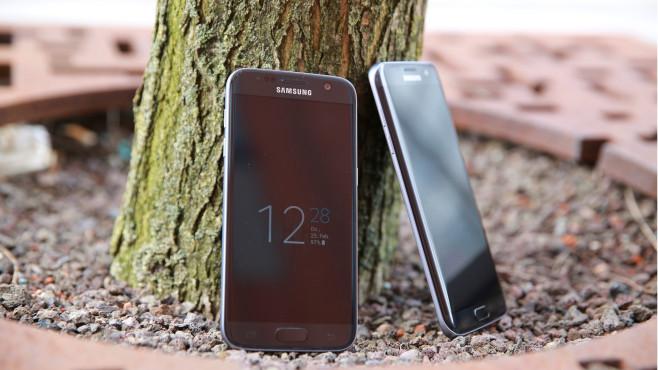 Samsung Galaxy S7 und S7 Edge©COMPUTER BILD