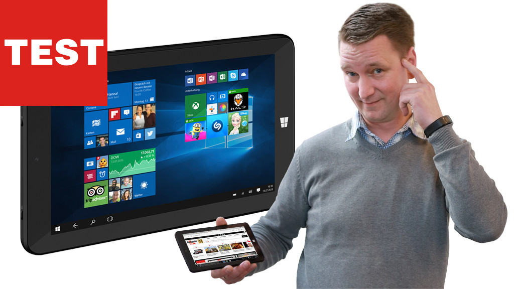 Trekstor Surftab Wintron 7.0: 59 Euro-Tablet in the Test