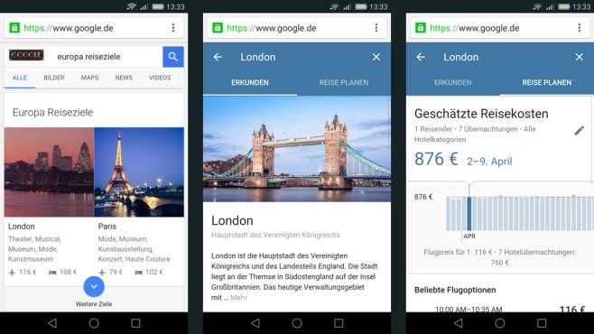 Google Destinations©Google