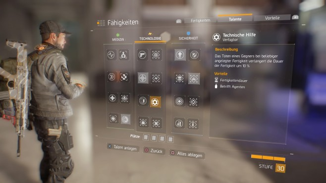 The Division: End-Game-Builds ©Ubisoft