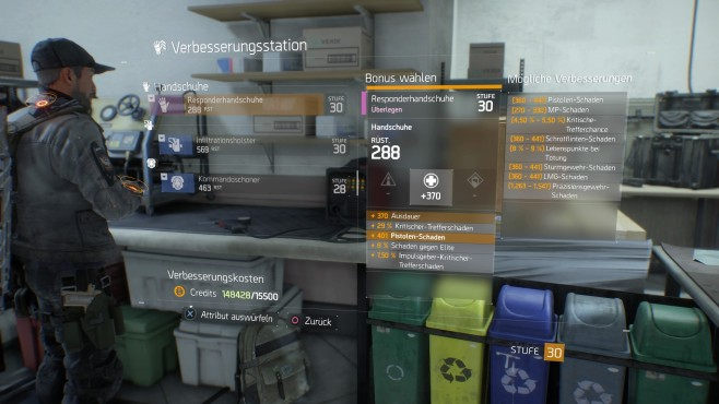 The Division: End-Game und High-End-Gear © Ubisoft