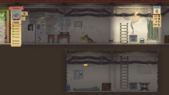 Sheltered Screenshot: Bunker nah©Team 17/Unicube