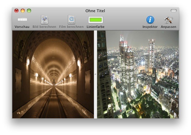 Screenshot 1 - MorphX (Mac)