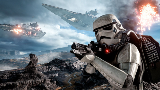 Star Wars Battlefront Fur Playstation Vr Computer Bild Spiele