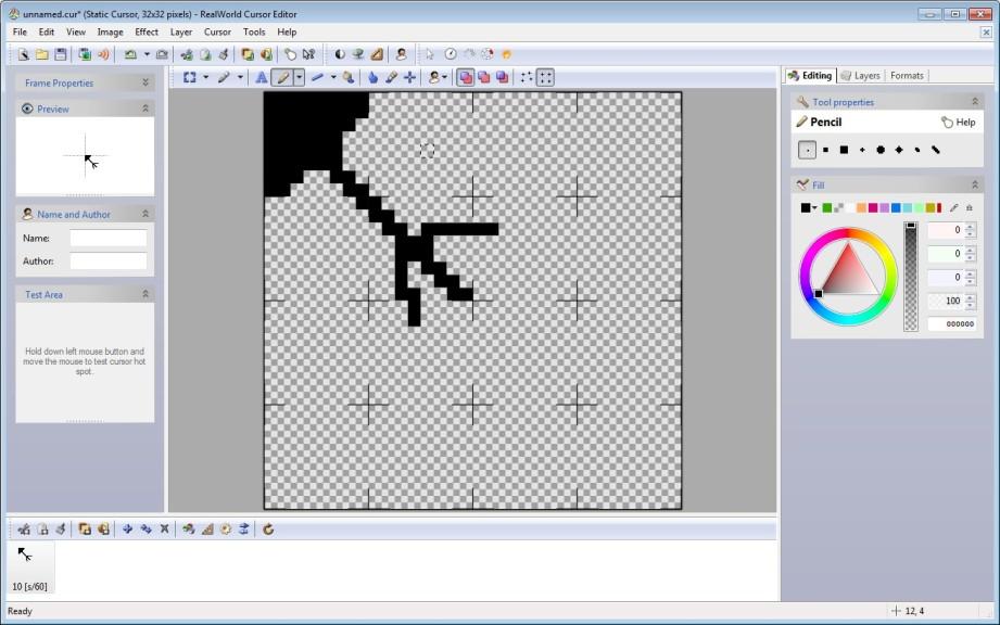 Screenshot 1 - RealWorld Cursor Editor