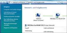 """So kommen Sie mit Vista ins Internet Das """"Netzwerk- und Freigabecenter"""" ist der Dreh- und Angelpunkt bei Windows Vista für die Einrichtung und Verwaltung eines Netzwerks. Per Mausklick auf """"Verbindung mit einem Netzwerk herstellen"""" richten Sie eine neue Internetverbindung ein."""