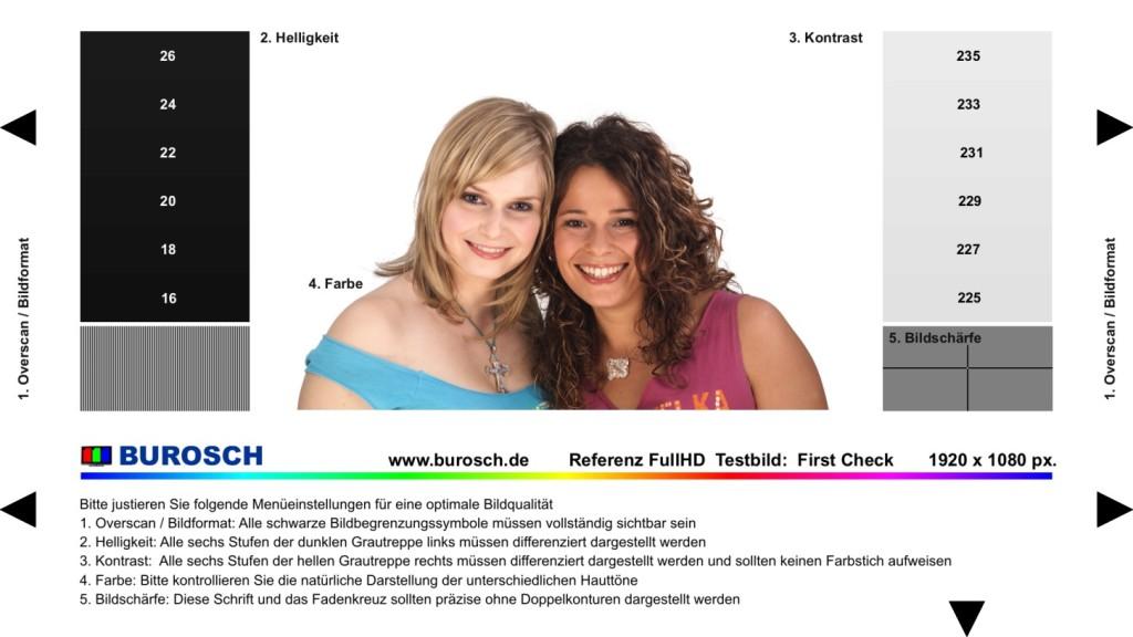 Screenshot 1 - Burosch First Check Testbild