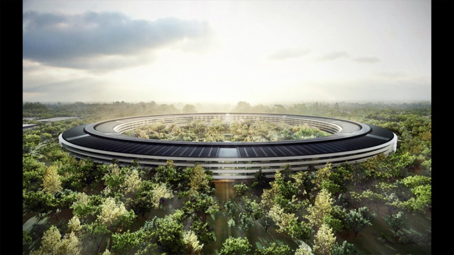 Apple Campus 2 © Apple