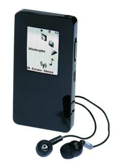 """Der """"Thomson Scenium Black Diamond (8 GB)"""" ist kompliziert zu bedienen, da die Tasten eng aneinander liegen."""