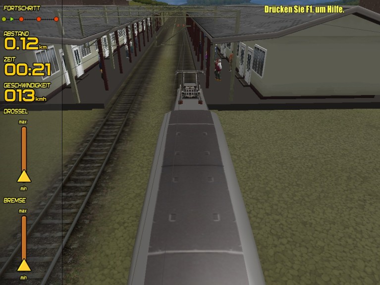 Screenshot 1 - Passenger Train Simulator