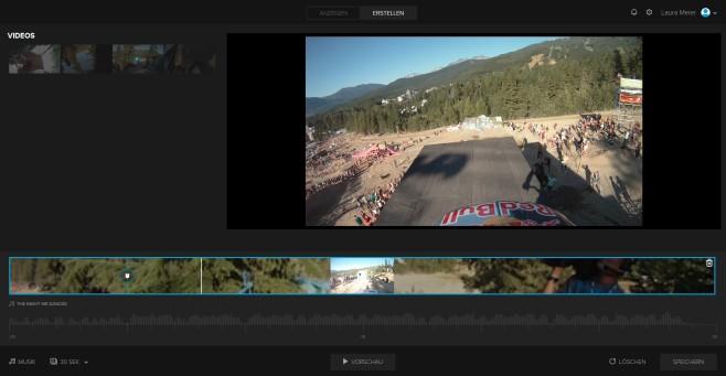 Screenshot 1 - GoPro Desktop-App (GoPro Studio) (Mac)
