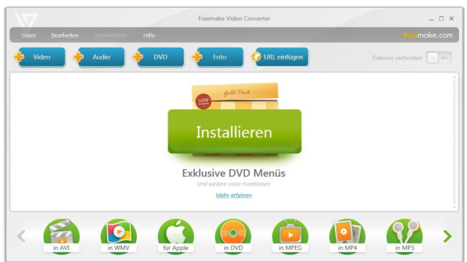 Platz 43: Freemake Video Converter (neu) © COMPUTER BILD