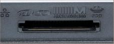 Acer Aspire 5633 WLMi Praktisch: Seitlich am Gerät gibt's ein Schreib-Lesegerät für Speicherkarten.
