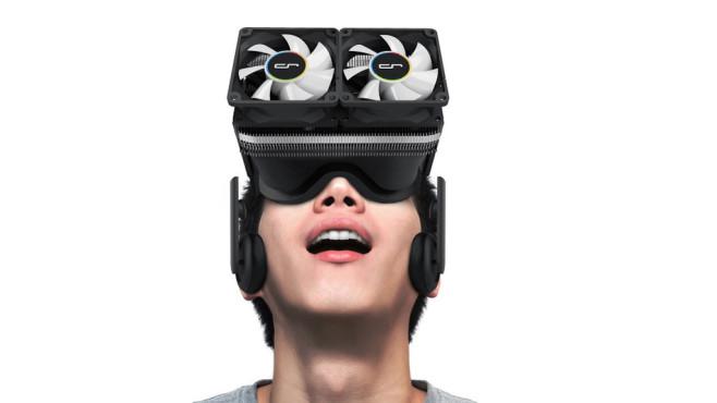 Cryorig VR-Brillen-Kühler ©Cryorig