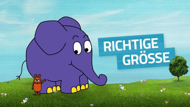WDR Maus und Elefant in realistischer Größe ©WDR