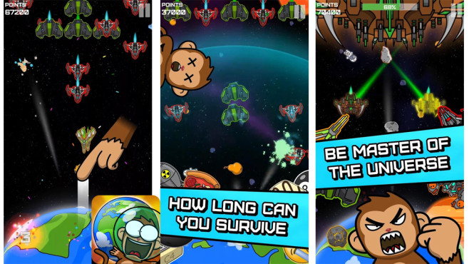 Space Dash: Earth Defender ©Grape Leaf Studios