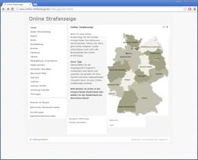 Online Strafanzeige erstatten