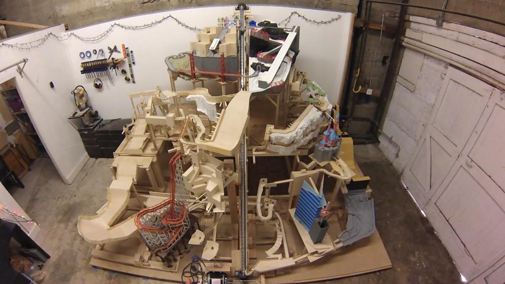Riesige Murmelbahn Mit 3 Jahren Bauzeit Computer Bild