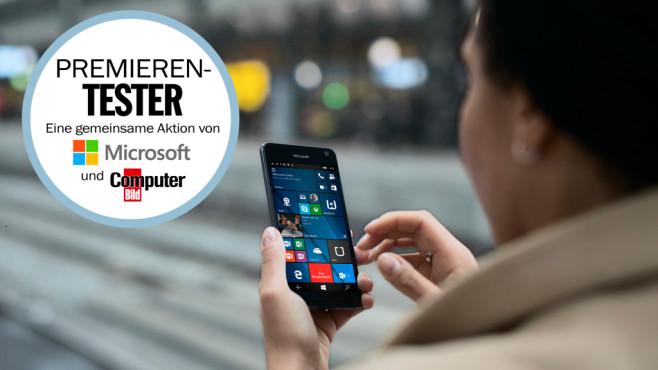 Lumia 650 Premierentest©Microsoft, COMPUTER BILD
