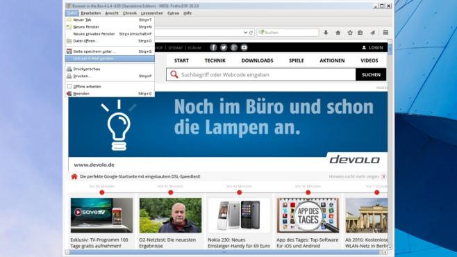 BitBox (Browser in the Box): Surfen im Gastmodus ©COMPUTER BILD