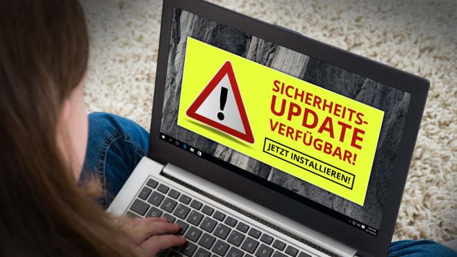 Gefährdete Programme: Aktualisieren Sie ©Microsoft, Andrey Popov - Fotolia.com