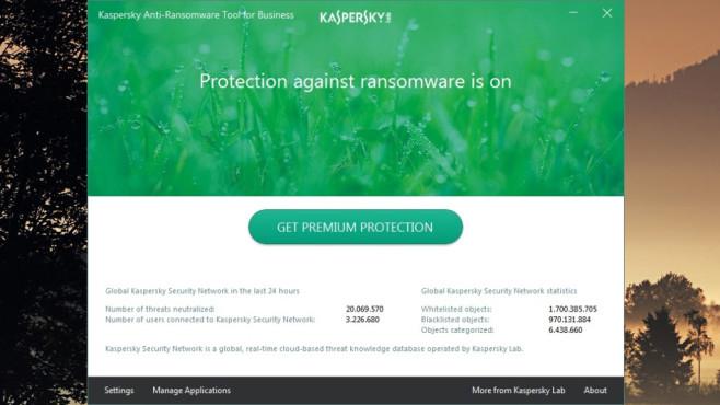 Kaspersky Anti-Ransomware Tool: Bedrohungen in Echtzeit fernhalten ©COMPUTER BILD