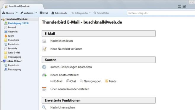 Thunderbird: Verseuchte E-Mails aussortieren ©COMPUTER BILD