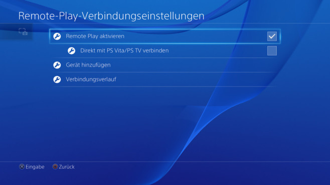 PS4: PC-Remote-Play ©Sony