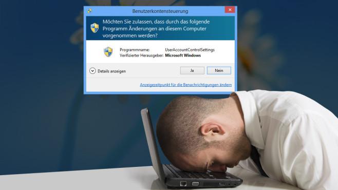Benutzerkonten-Steuerung nicht länger starr ©uac-alphaspirit - Fotolia.com