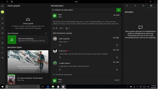 Xbox-App aufgefrischt ©COMPUTER BILD