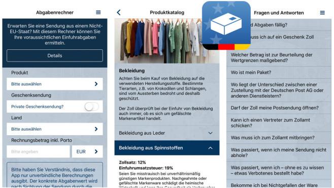 Zoll und Post ©Bundesministerium der Finanten