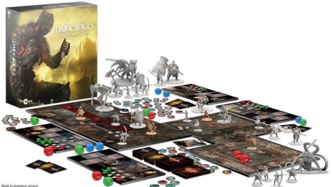 Dark Souls: Brettspiel©Namco Bandai