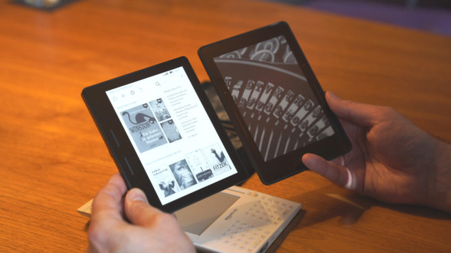 eBook-Reader Amazon Kindle Oasis © Amazon, COMPUTER BILD