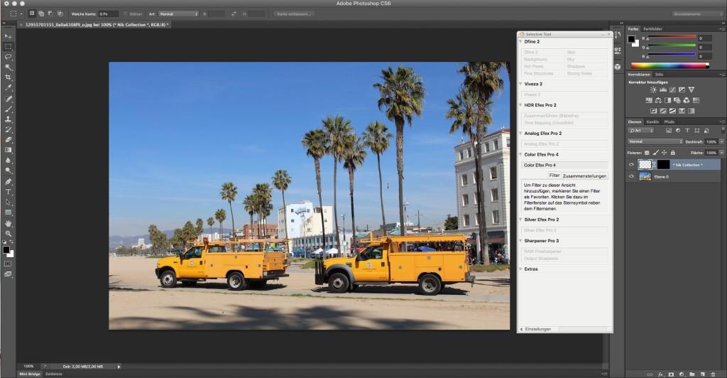 Screenshot 1 - Google Nik Collection (Mac)