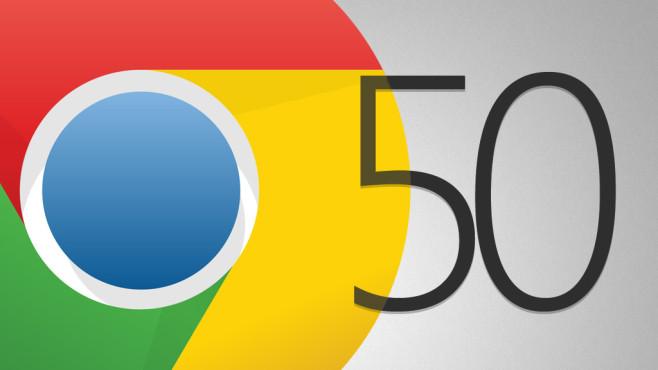 Google Chrome 50©Google