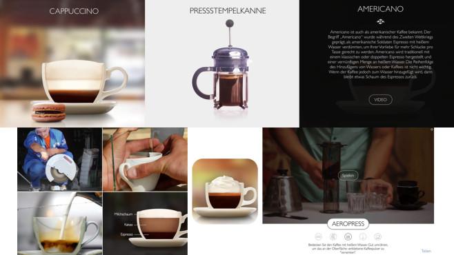 The Great Coffee App ©Mobile Creators