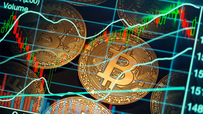Bitcoin-Kurs©iStock.com/KeremYucel