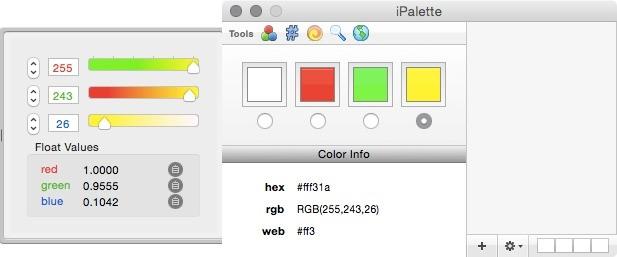 Screenshot 1 - iPalette (Mac)