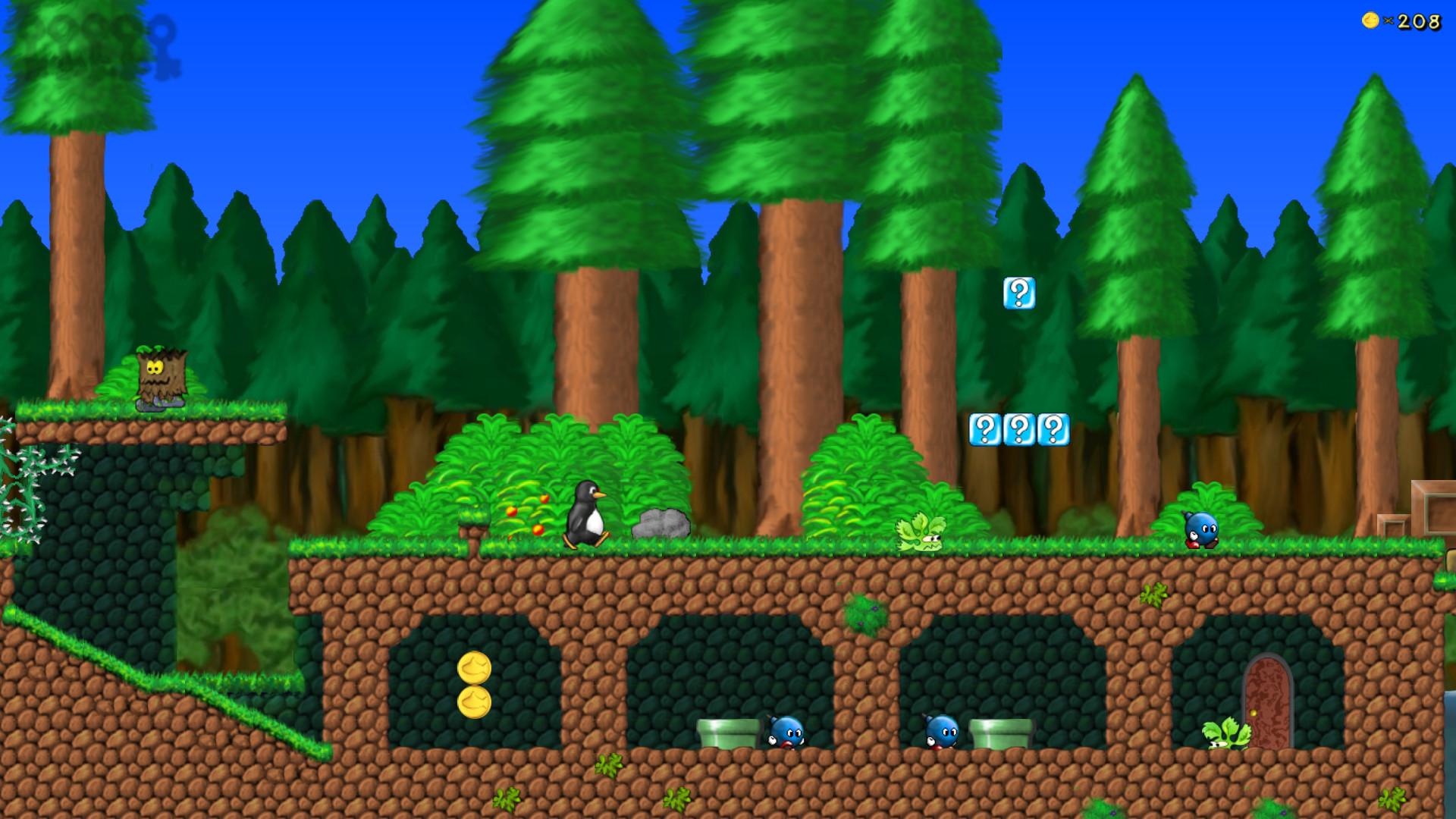 Screenshot 1 - SuperTux (Mac)